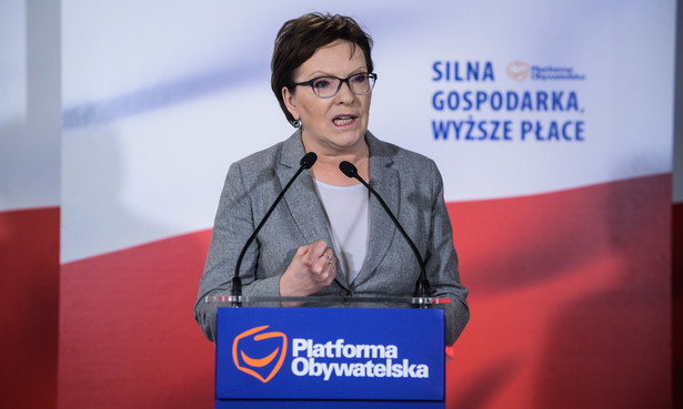 Premier Kopacz przypomniała, że dyskusja wokół afery podsłuchowej, w głównej mierze dotyczy tych, którzy nagrywali, a nie tych, którzy podsłuchiwali nielegalnie
