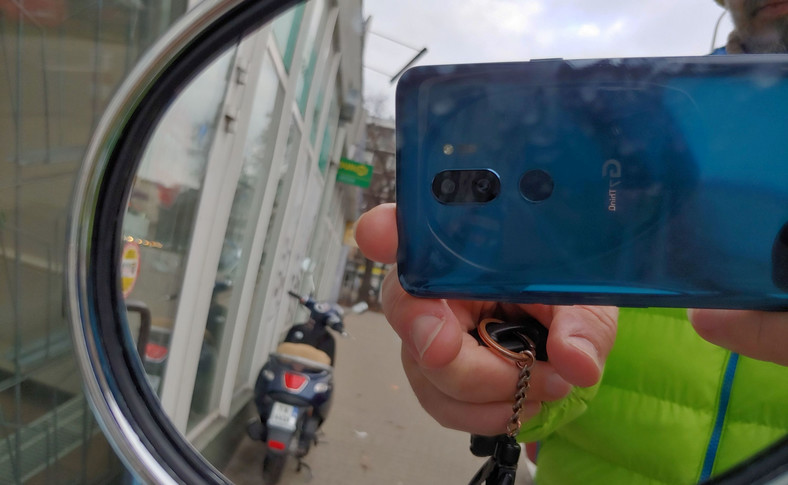 Zdjęcie wykonane smartfonem LG G7 Thinq
