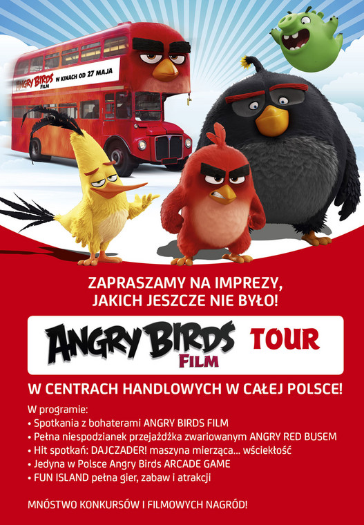 Angry Birds Tour