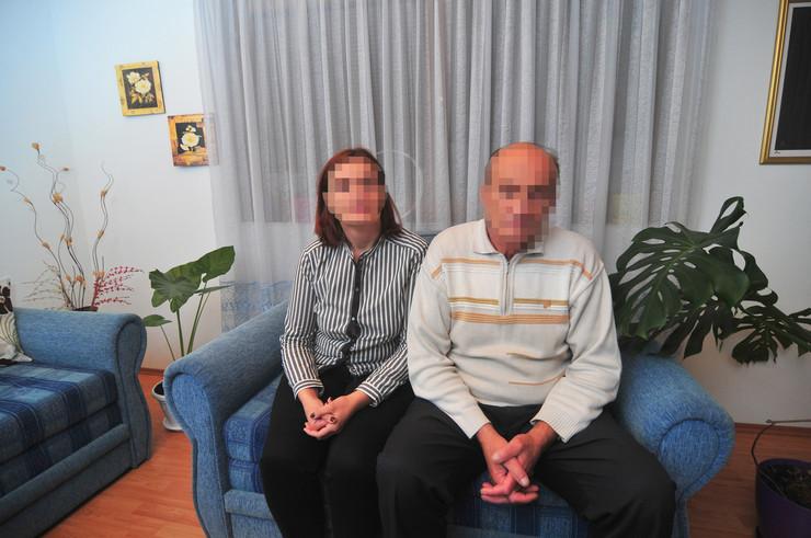 Novi Sad - Biljana Cavic sa ocem Milanom, nasilje nad zenama