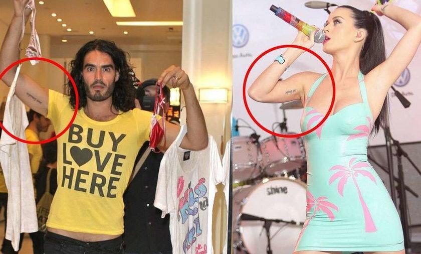Mają identyczne tatuaże. Kto?