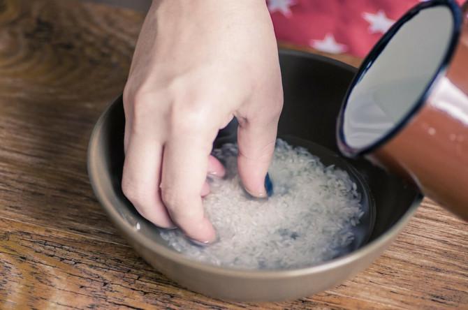Pirinčana voda je blagotvorna za kosu