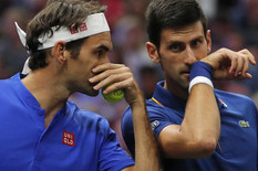 POSEBAN MOMENAT ZA SVETSKI TENIS Prvi put na istoj strani: Đoković i Federer POSLE PREOKRETA poraženi u dublu