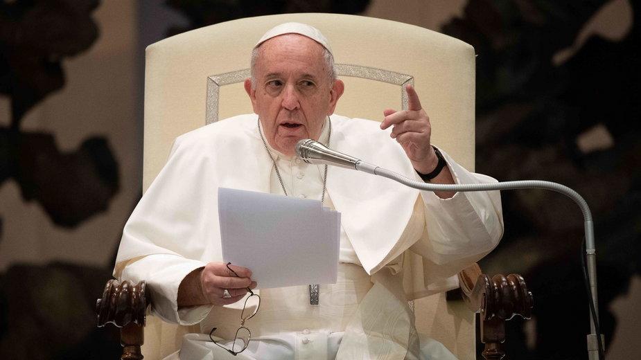 """W filmie papież mówi o tym, że homoseksualiści """"mają prawo do rodziny"""""""
