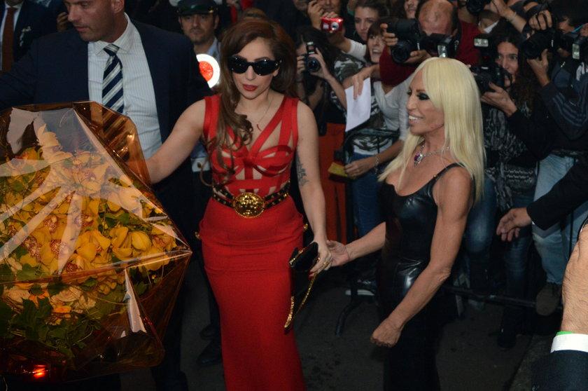 Donatella Versace i Lady Gaga