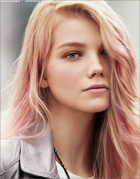 Truskawkowy Blond Różowe Złoto Ma Być Kolorem Sezonu Kto Może Go