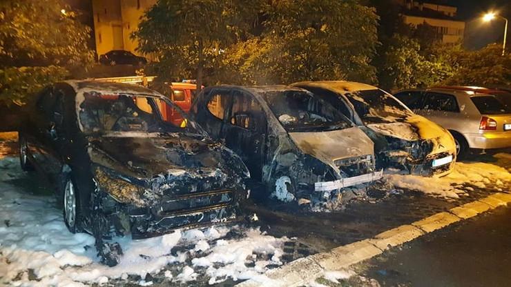 zapaljeni automobili lazarevac