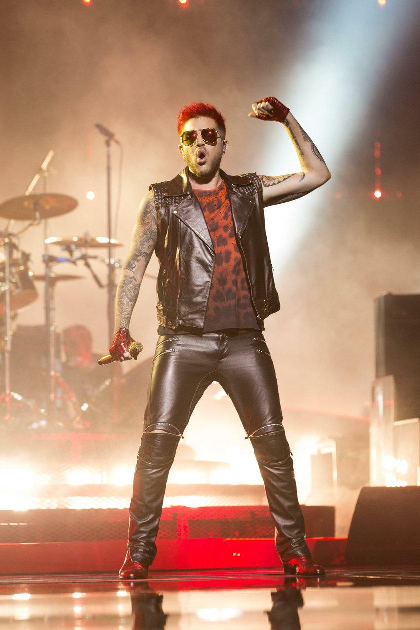 Wokalista zespołu Queen Adam Lambert