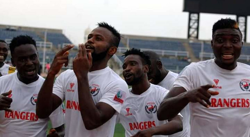 Rangers beat USM Abbes 2-0 to progress in CAF Confederation Cup