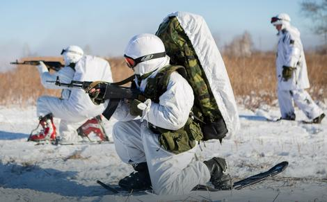 Ruski vojnici su uveliko na Arktiku
