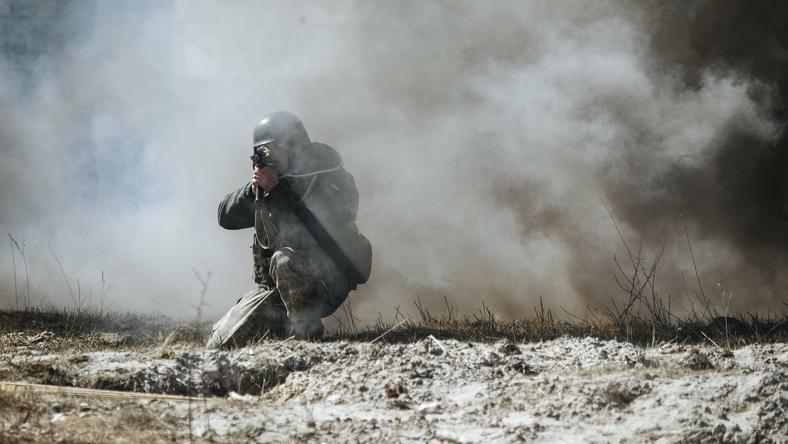 Na Ukrainie walczą zagraniczni bojownicy