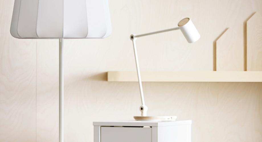 Kabelloses Laden: Ikea integriert Qi-Standard in Möbel