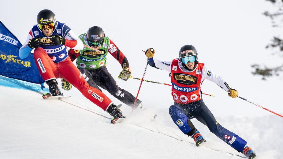 Zawody w skicrossie