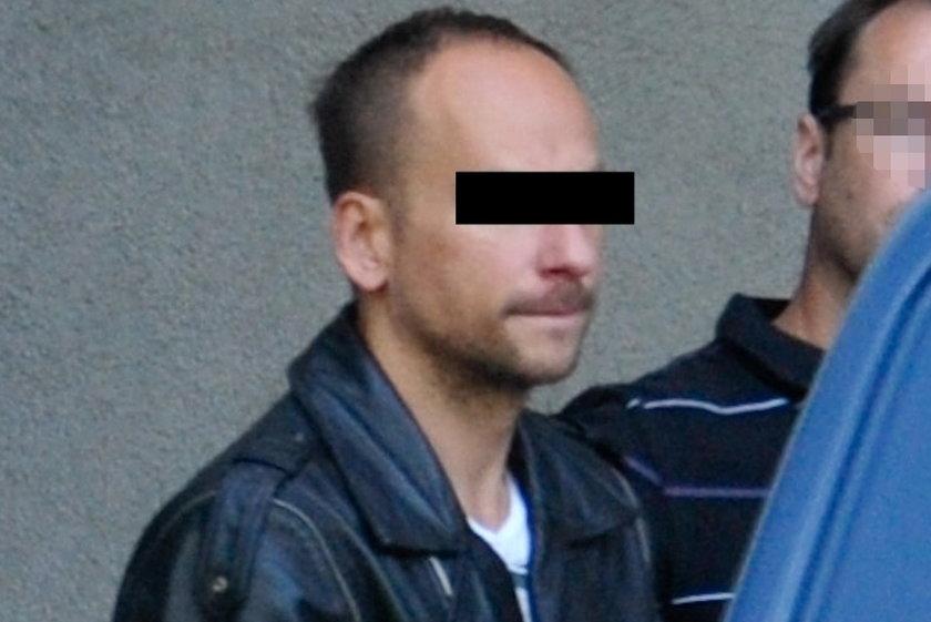 Dariusz K., sprawca wypadku