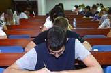 Maturanti su imali mogućnost da se prijave za polaganje prijemnog na više fakulteta.