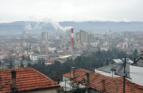Smog u Nišu prošle zime