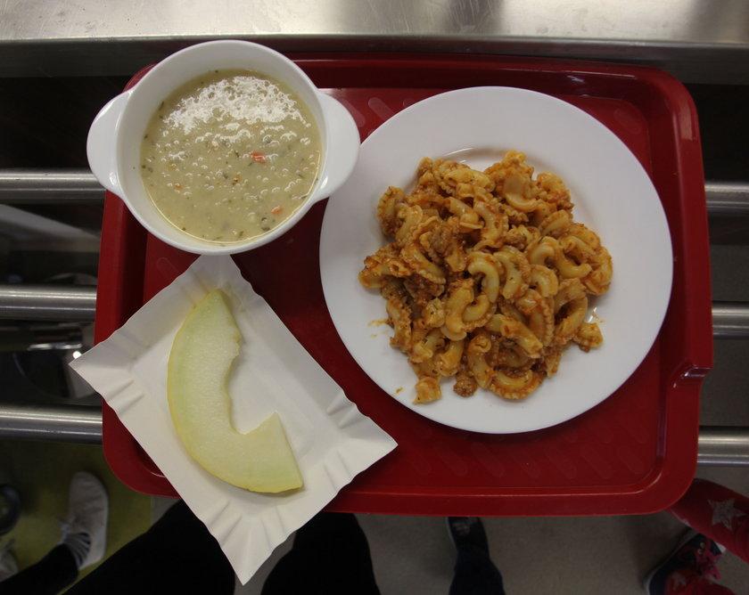 obiad w szkole