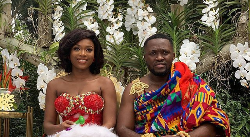 Tracy and Kennedy: See best 13 photos from traditional wedding of Despite's son