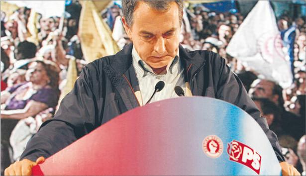 Premier Hiszpanii nie sprostał wyzwaniom, jakie postawiła przed nim światowa i krajowa gospodarka Fot. Reuters/Forum