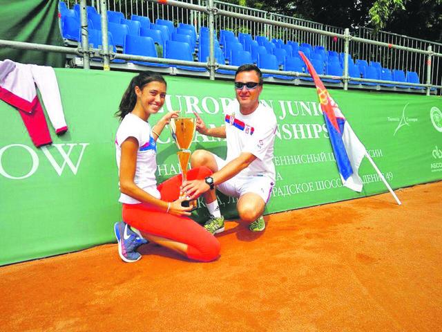 Olga Danilović i Marko Đoković