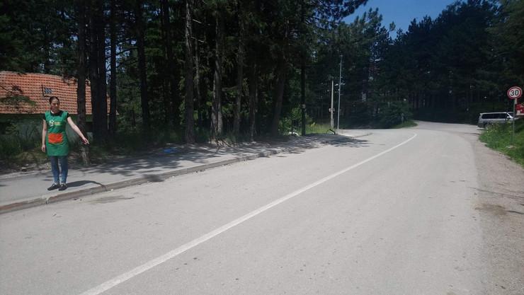 Divčibare - mesto gde je automobil pokosio kolonu dece