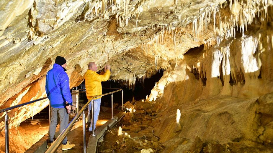 Jaskinia Niedźwiedzia w Kletnie (Sudety)