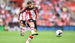 English striker Danny Ings has joined Aston Villa from Southampton Creator: Glyn KIRK