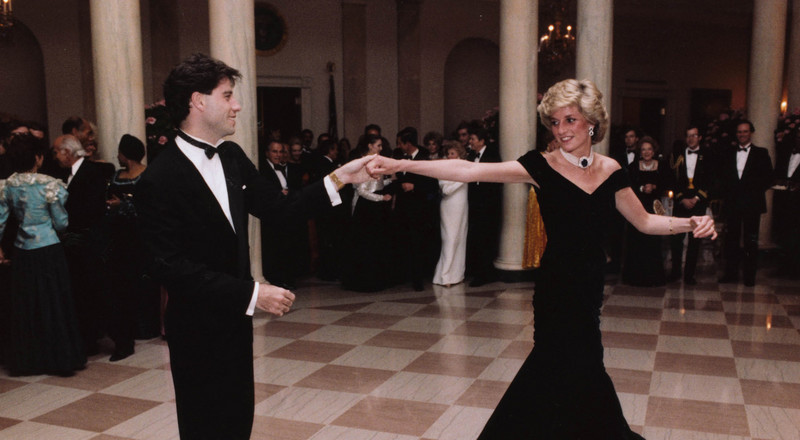 The iconic dress Princess Diana wore to a White House dinner in 1985 is hitting the auction, and it's expected to go for as much as $450,000