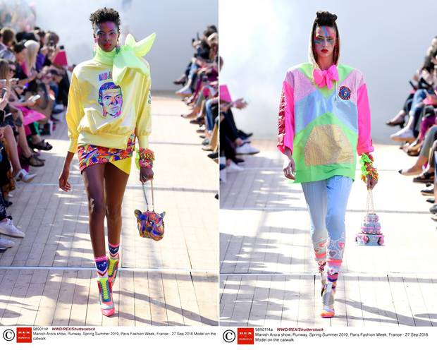 PSG x Manish Arora na Paris Fashion Week