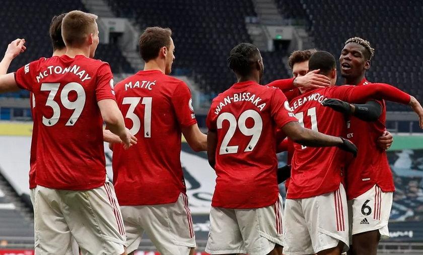 Radość piłkarzy Manchesteru United