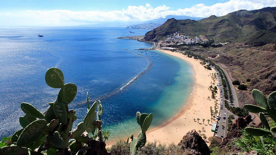 Teneryfa, Playa Teresitas