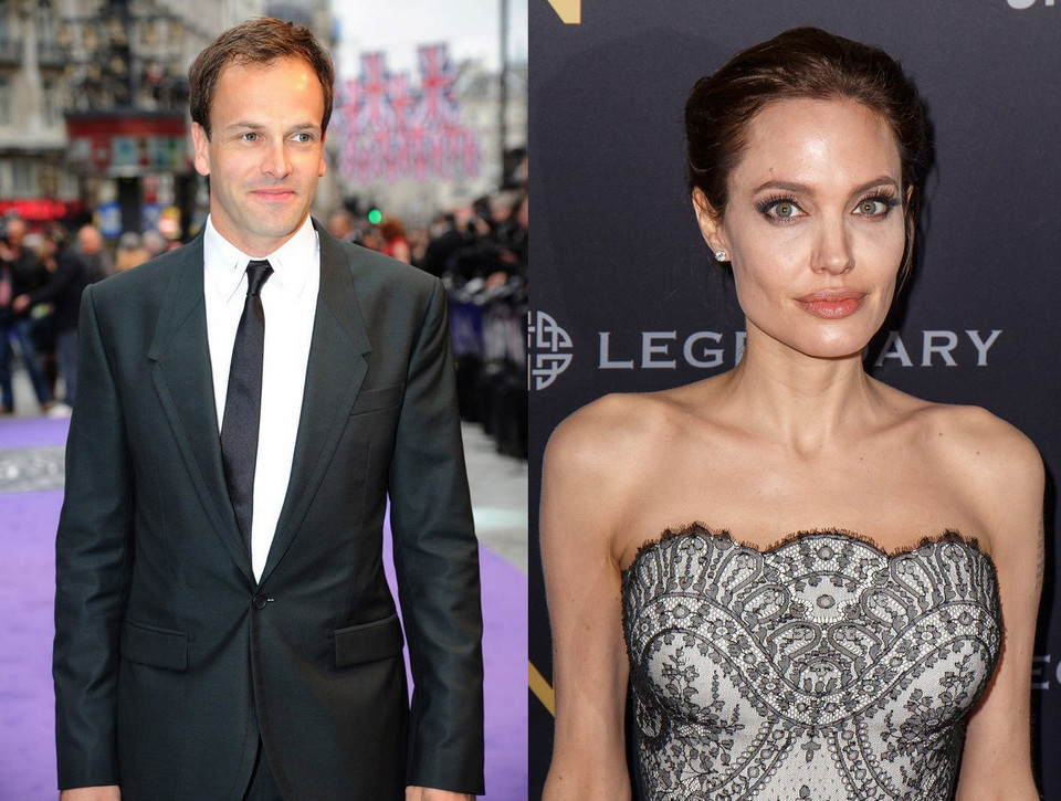Johnny Lee Miller i Angelina Jolie