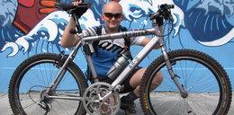 Chciał pojechać rowerem 300 km/h. Ukradli mu go w Polsce!