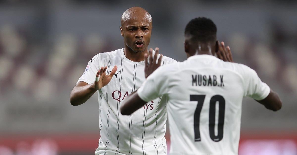 WATCH: Andre Ayew scores second goal in two matches for Al Sadd