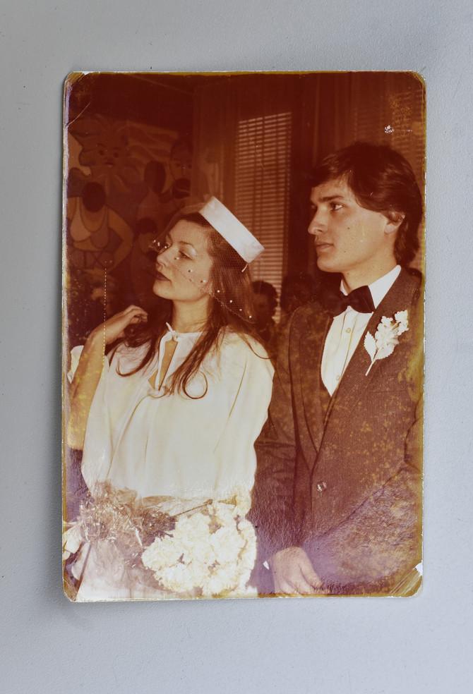 Mnogo su se voleli, a otac se protivio. Želeli su da sami organizuju svadbu, uz podršku Marijine mame