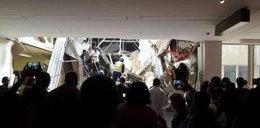 Zawalił się dach szpitala. Pod gruzami są ludzie