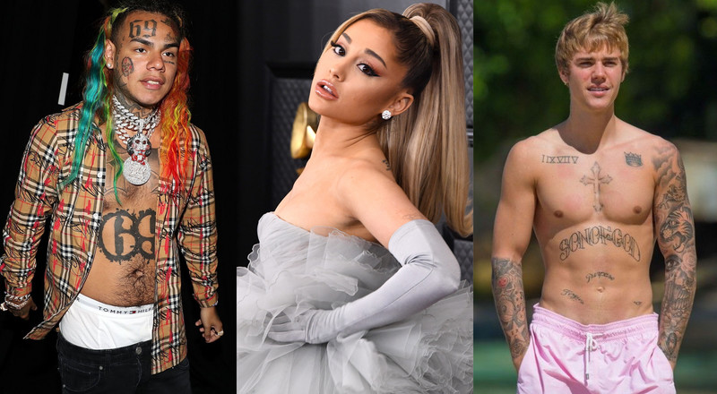 Justin Bieber stands up to Tekashi 69; schools him over 'attack' on Ariana Grande