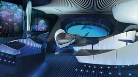 Powstaje jacht z multimedialnym podwodnym salonem