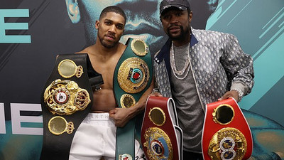 Floyd Mayweather wants to train Anthony Joshua for his fight against Tyson Fury