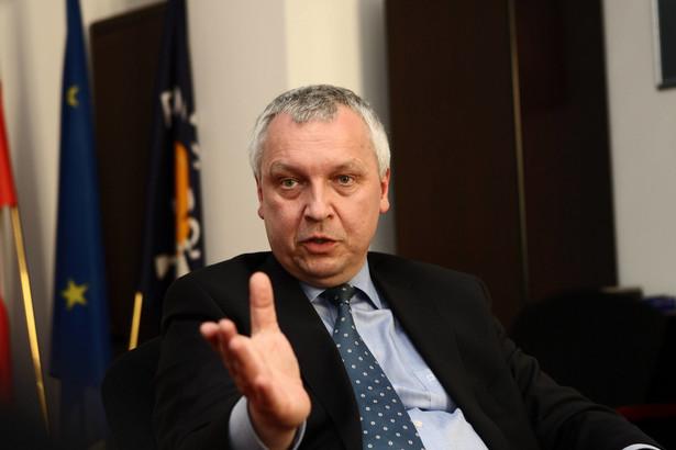 Jerzy Jóźkowiak, prezes Poczty Polskiej, Fot. Wojciech Górski