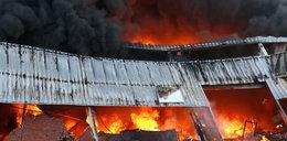 Pożar w Białej Rawskiej. Płonie przetwórnia owoców