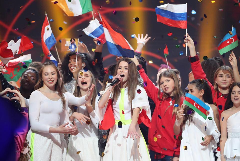 Junior Eurovision Song Contest 2018 - POLAND wins!  X_uktkqTURBXy9hNmMxNWFlMjcxMWMwOGM0OTJhNDUxMjE0Y2JiMzQ2Yi5qcGVnkpUCzQPAAMLDlQIAzQPAwsM