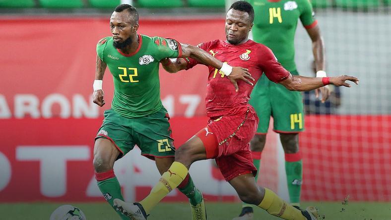 Burkina Faso - Ghana