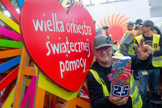Szef Fundacji Wielkiej Orkiestry Świątecznej Pomocy Jurek Owsiak