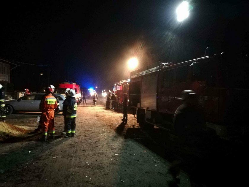 Wybuch gazu w domu w Tuszynie