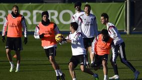 Zabawna sytuacja na treningu Realu