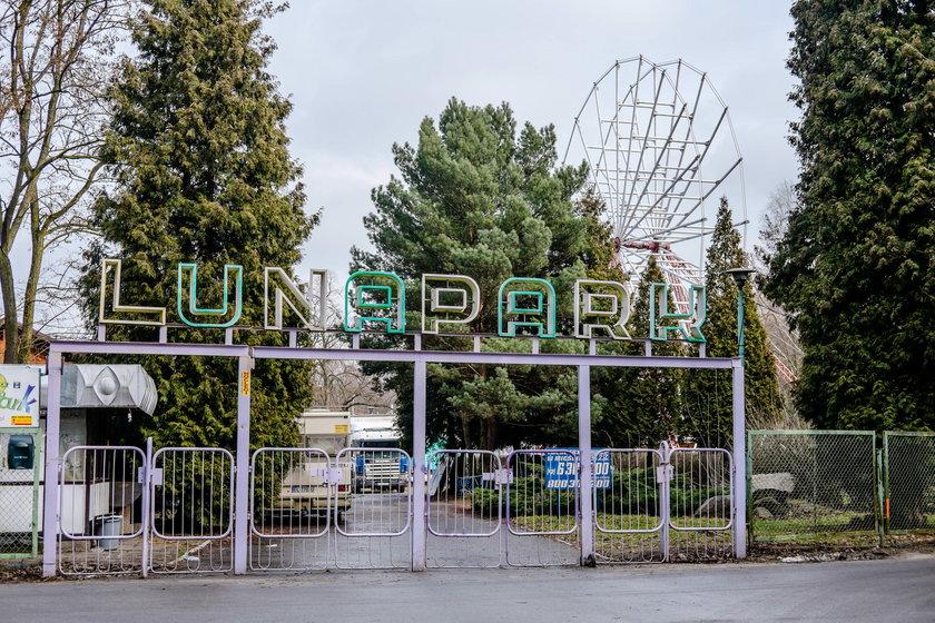 Park rozrywki zamiast lunaparku