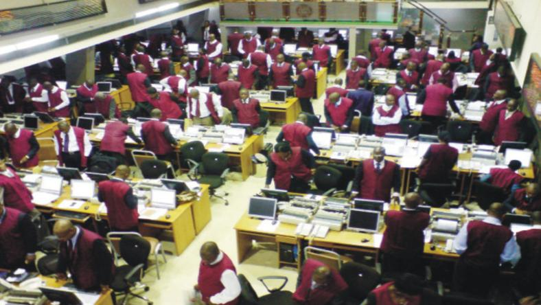 Trading Floor of Nigerian Stock Exchange