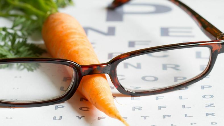 Okulary i marchewka, dieta