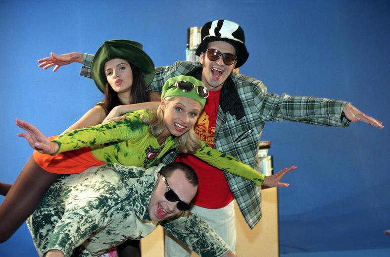 Końjo, Iza Lizewska, Wiganna i Skiba (zdjęcie z archiwum Skiby)